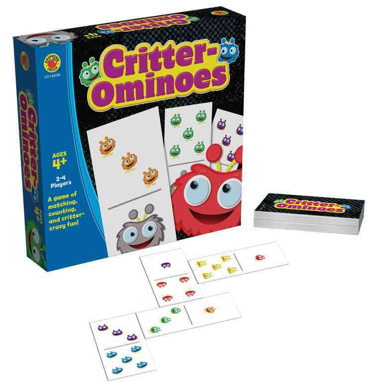 Critter-ominoes Board Game By Carson-Dellosa Publishing Company, Inc. (COR)